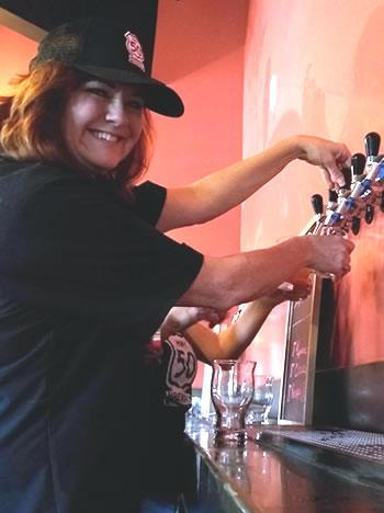 Diane Ritz of Hwy 50 Brewery